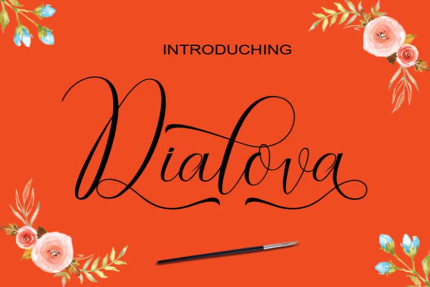 Dialova Font