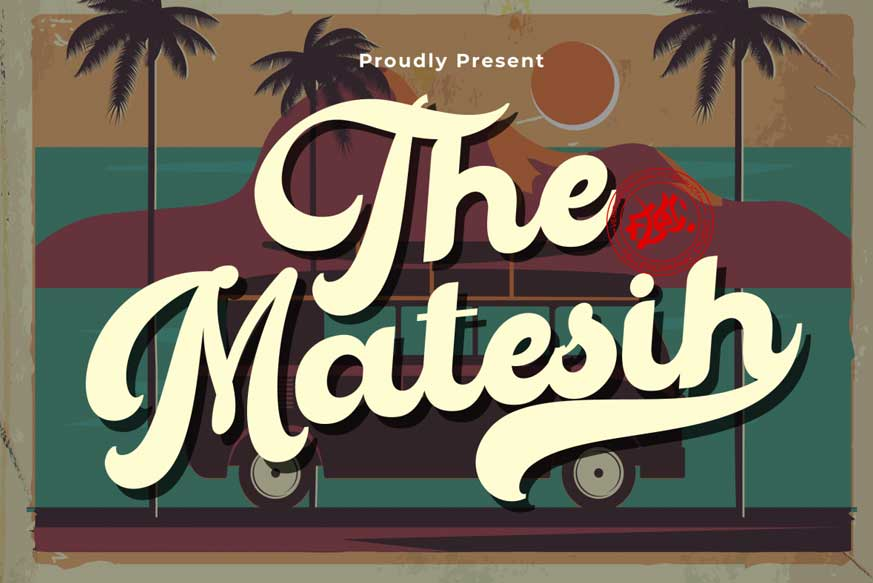 The Matesih Font