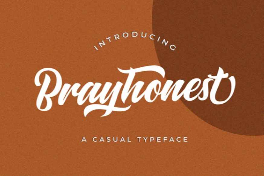 Brayhonest Font