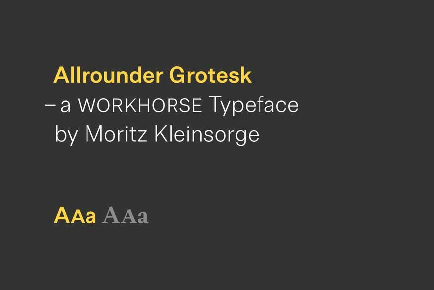 Allrounder Font Family
