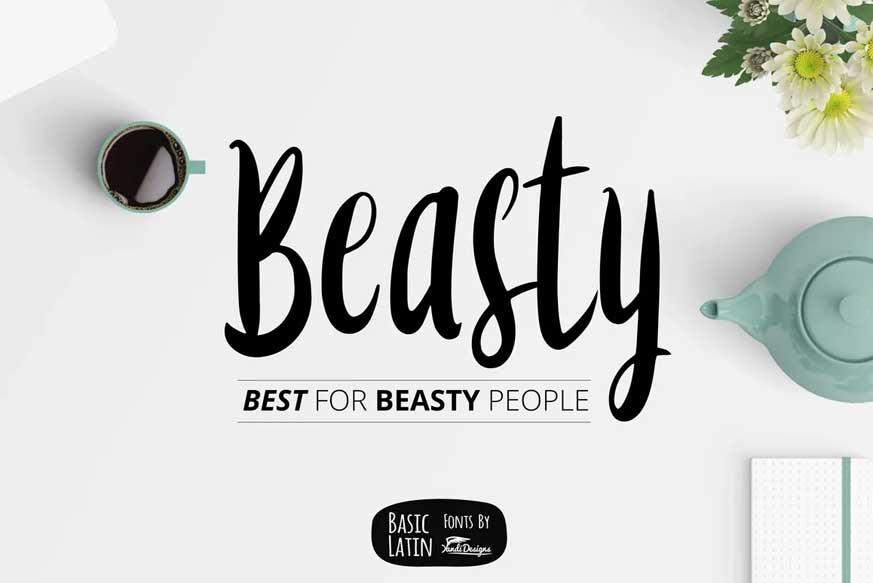 Beasty Font
