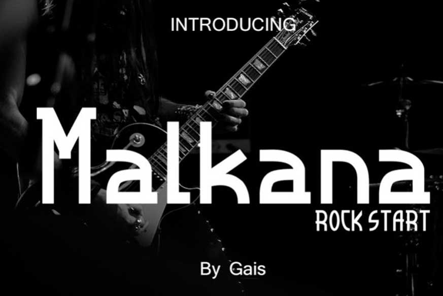 Malkana Display Font