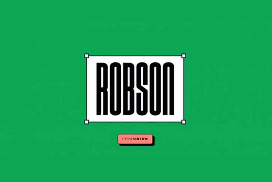 Robson Font Family