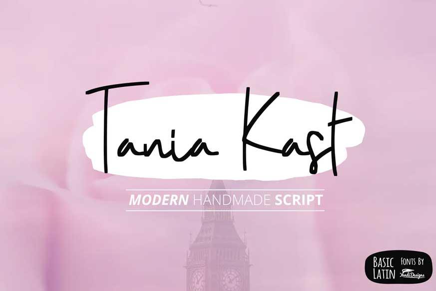 Tania Kast Font