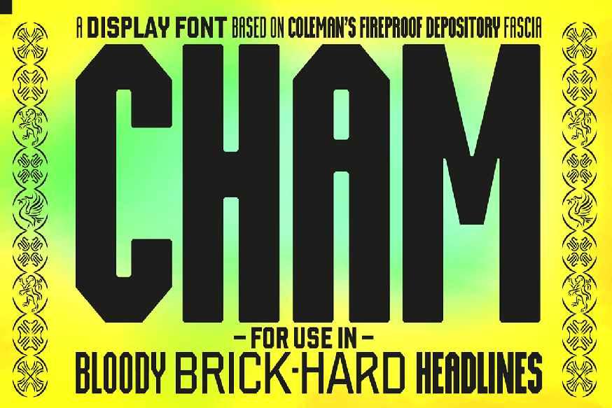 Cham Font Family
