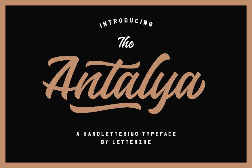 Antalya Font