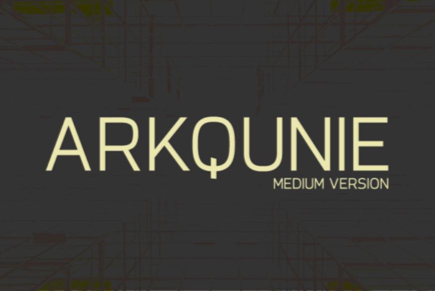 Arkqunie Font Family
