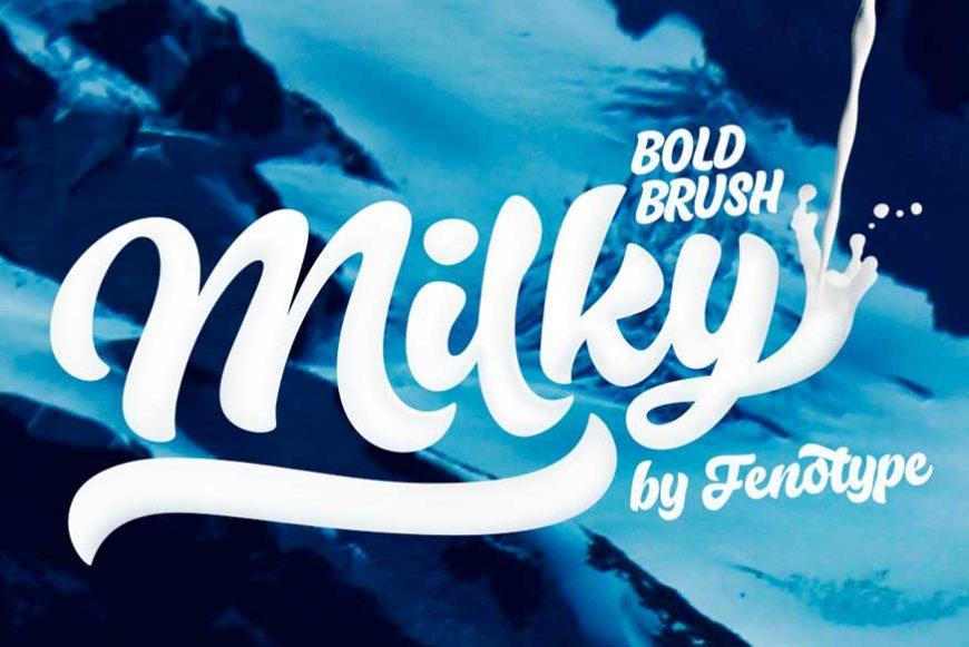 Milky Font Family