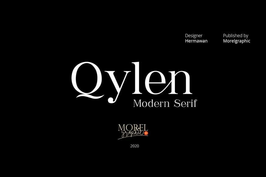 Qylen Modern Serif