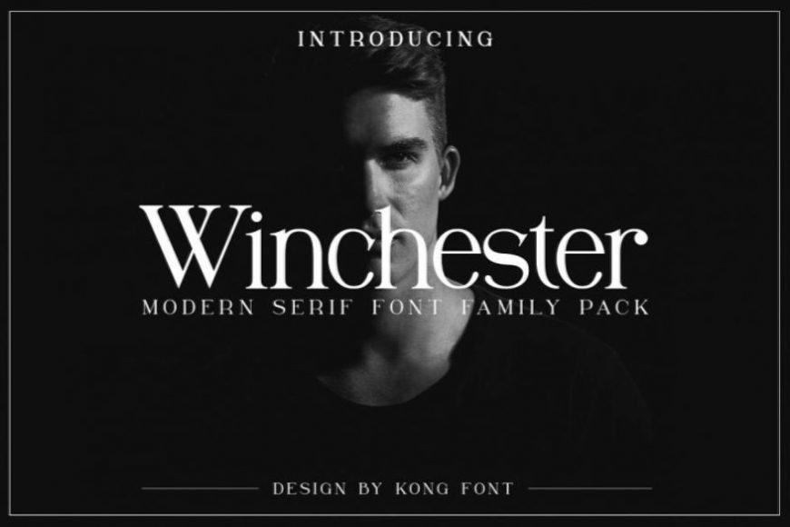 Winchester Modern Serif Font