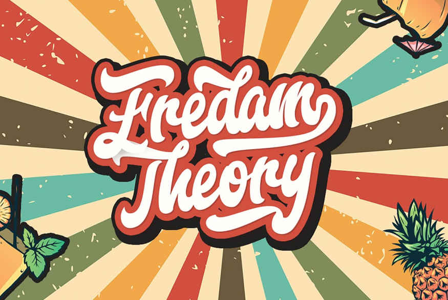 Fredam Theory - Retro Script Font