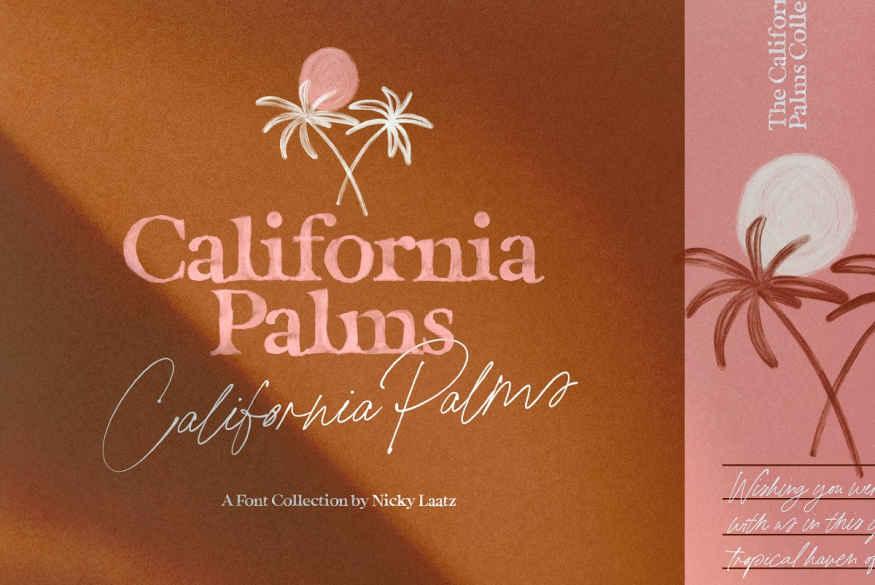 California Palms Fonts