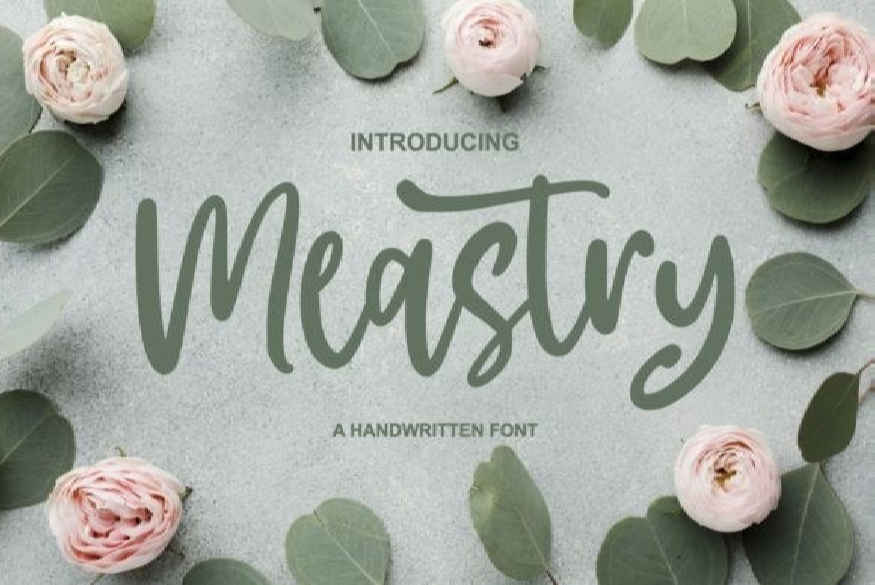 Meastry Font