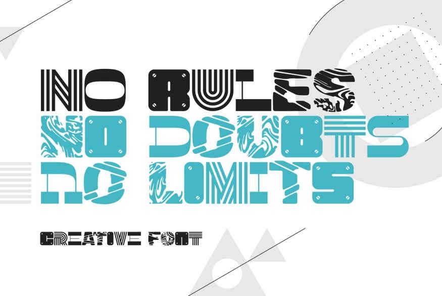 No Rules Font