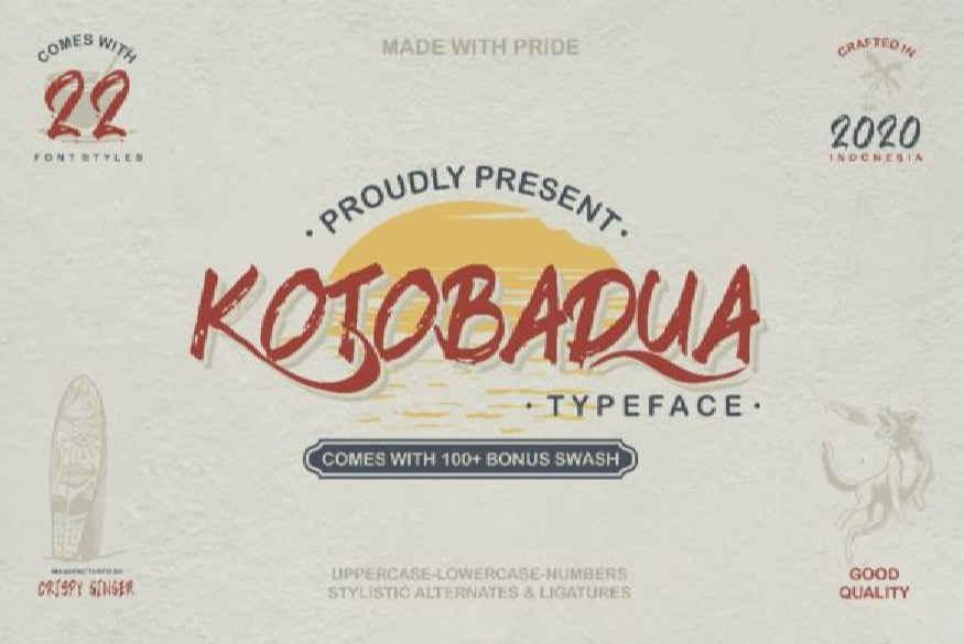Kotobadua Font