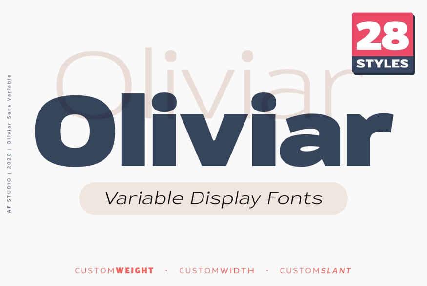 Oliviar Sans - Variable Fonts