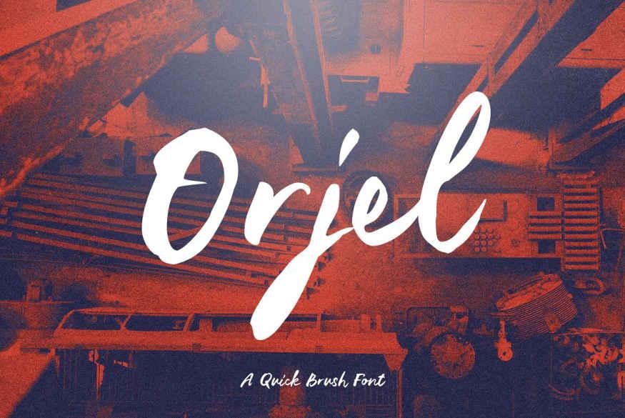 Orjel Font