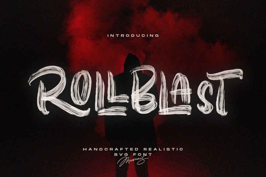 ROLLBLAST - Display Font