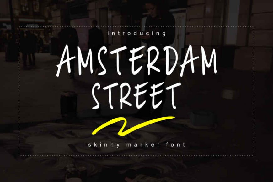Amsterdam Street Font