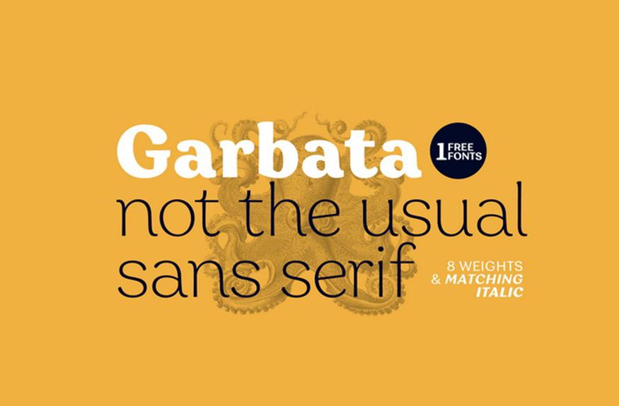 Garbata Serif Font