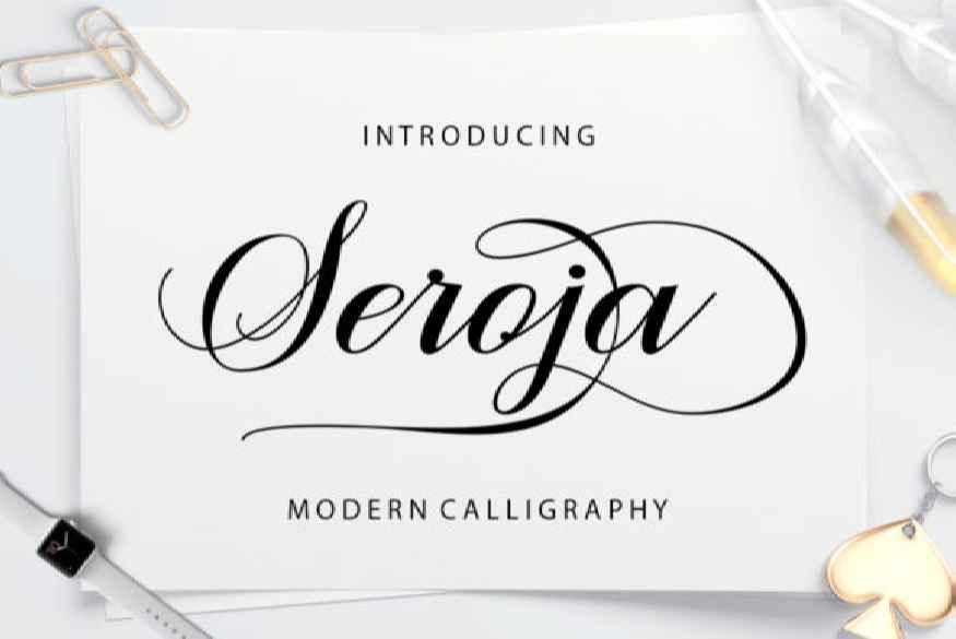 Seroja Font