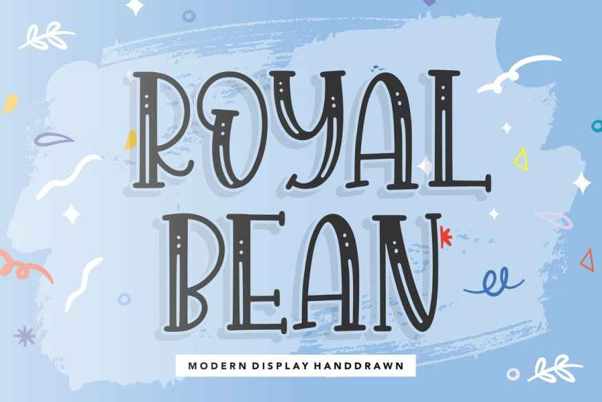 Royalbean YH - Display Font