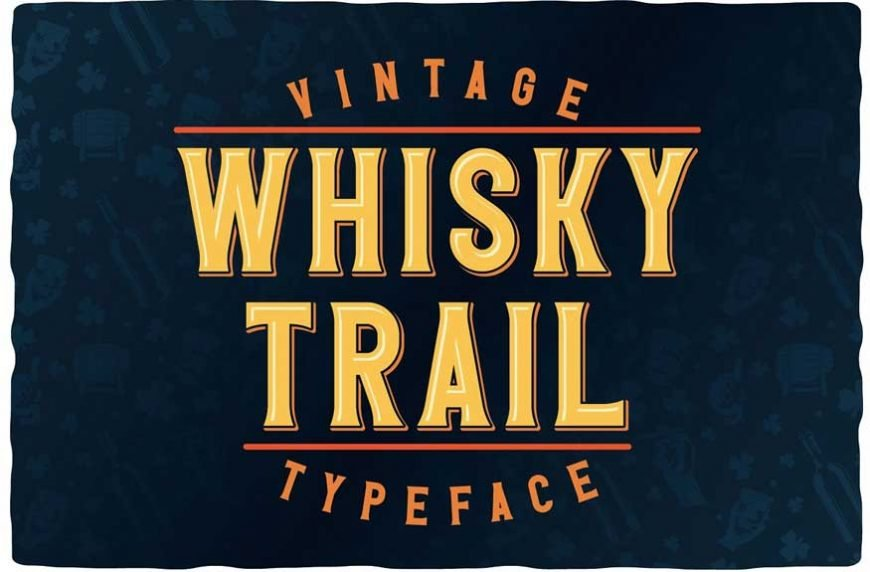 Whisky Trail Font