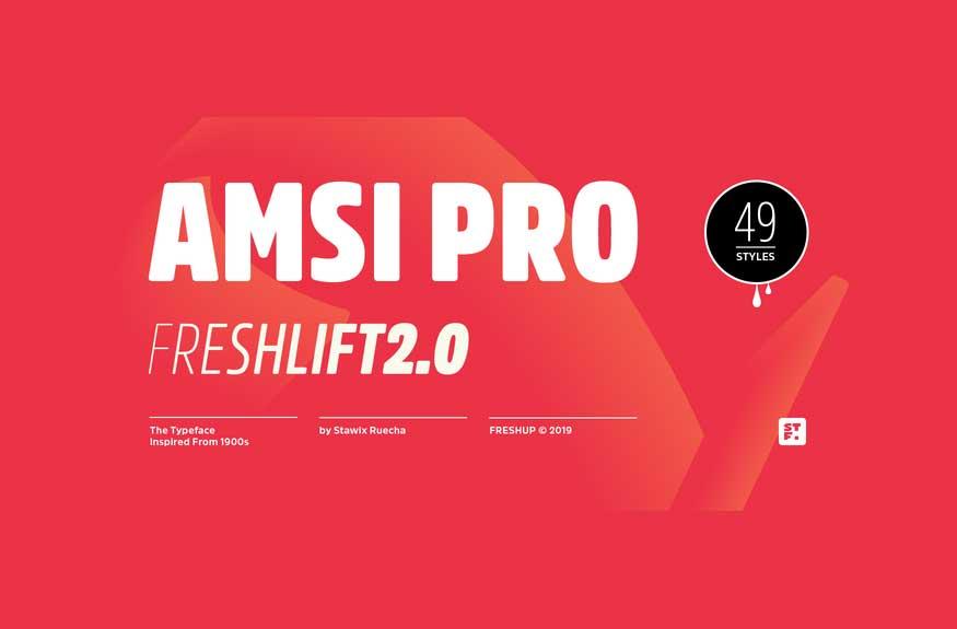 Amsi Pro Font