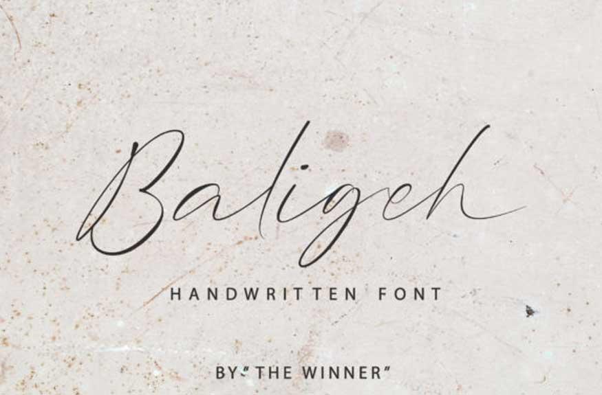 Baligeh Font