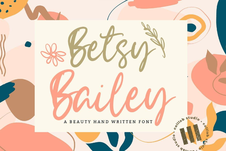 Betsy Bailey Font