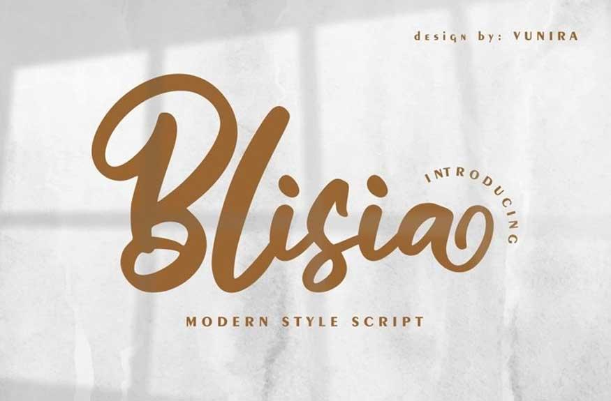 Blisia Font