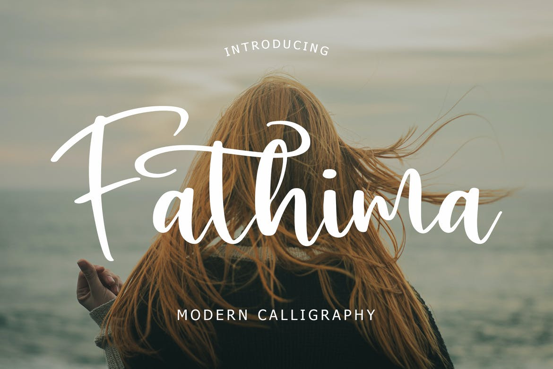 Fathima Modern Script Font