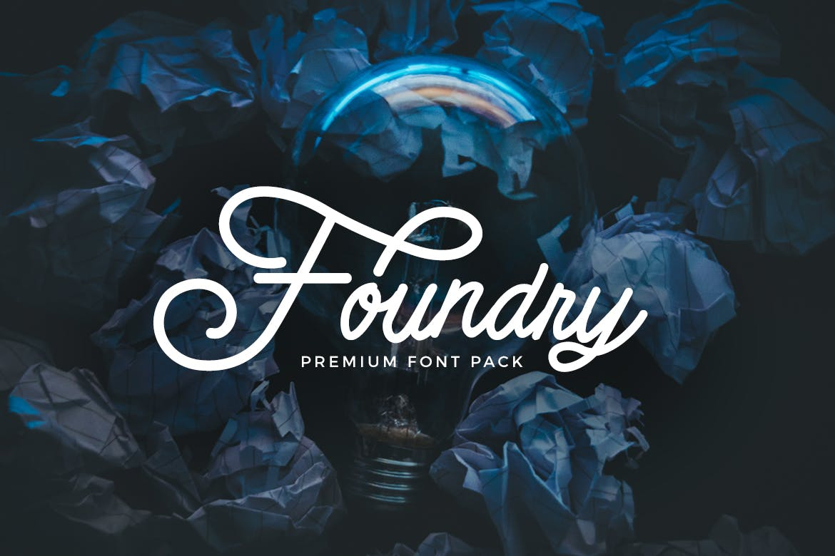 Download Foundry - Font Pack - Download Free Fonts