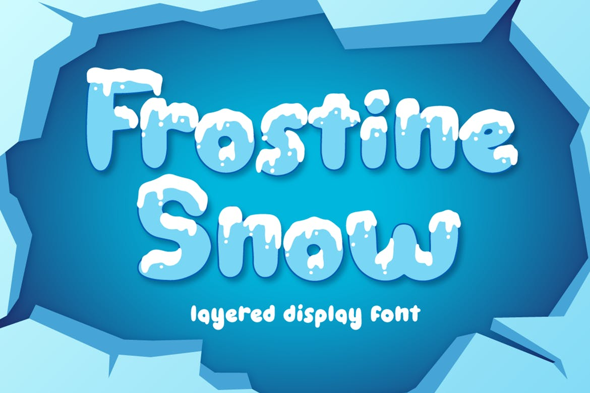 Frostine Snow - Christmas Font