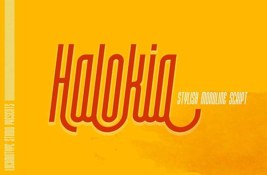 Halokia Font