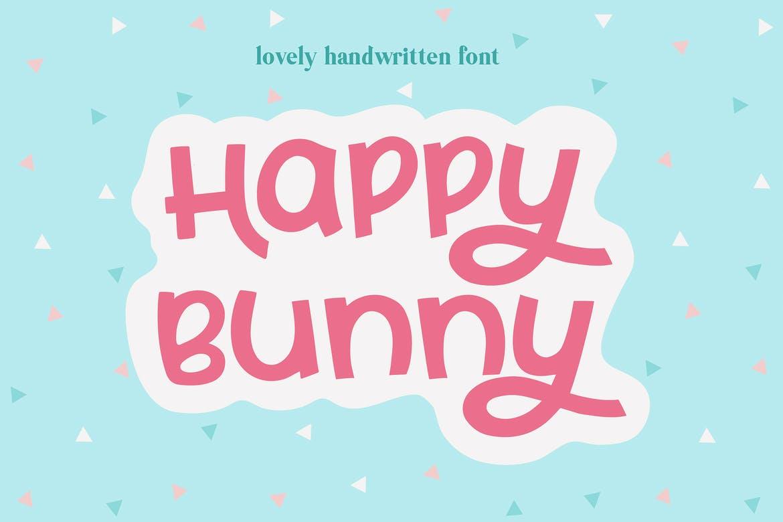 Happy Bunny Script Font
