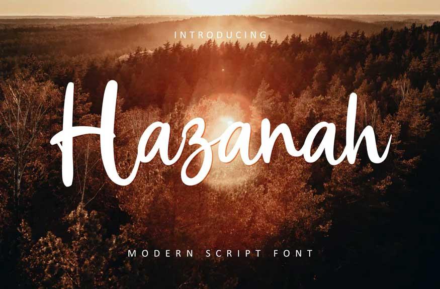 Hazanah Font