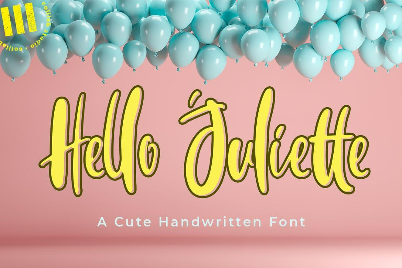 Hello Juliette Font