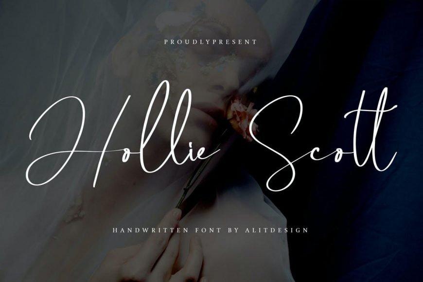 HollieScott Font