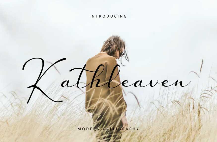 Kathleaven Font