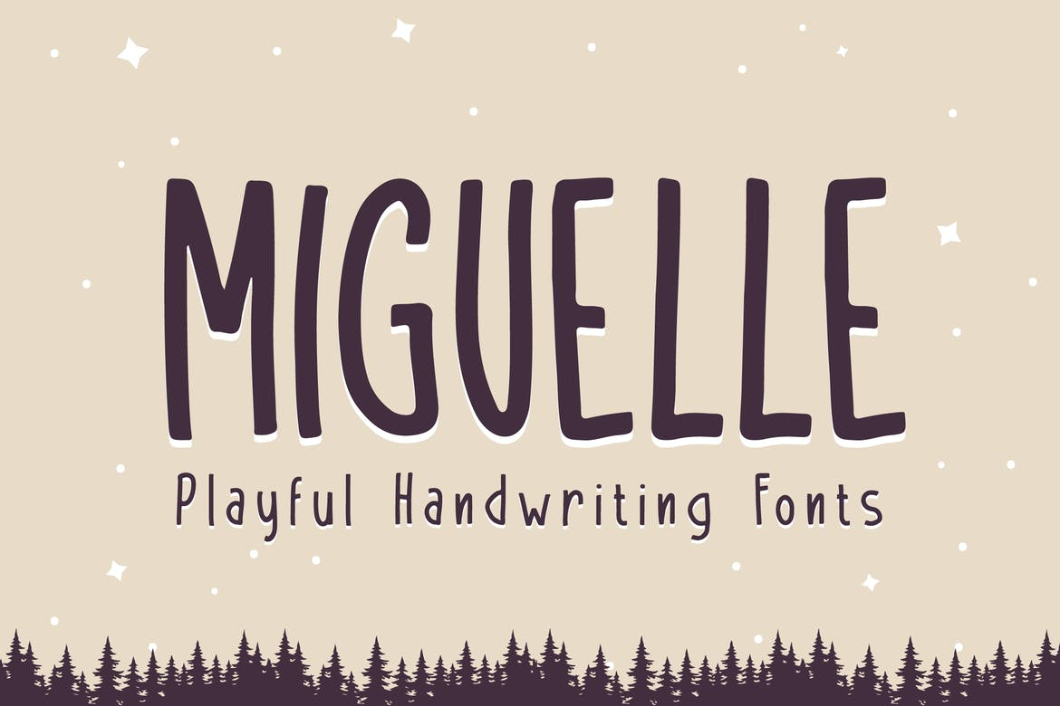 Miguelle - Playful Handwriting Fonts