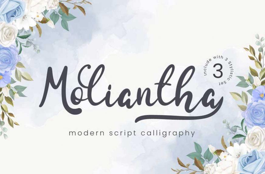 Moliantha - Script Font