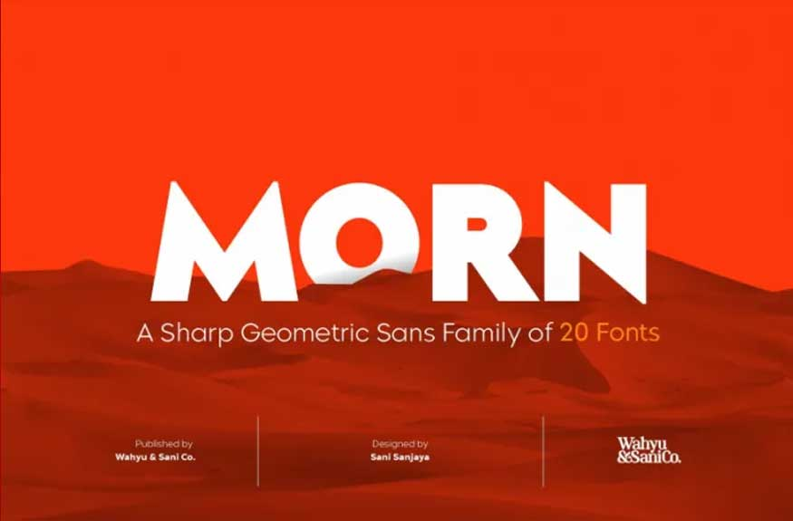 Morn Font Free Download