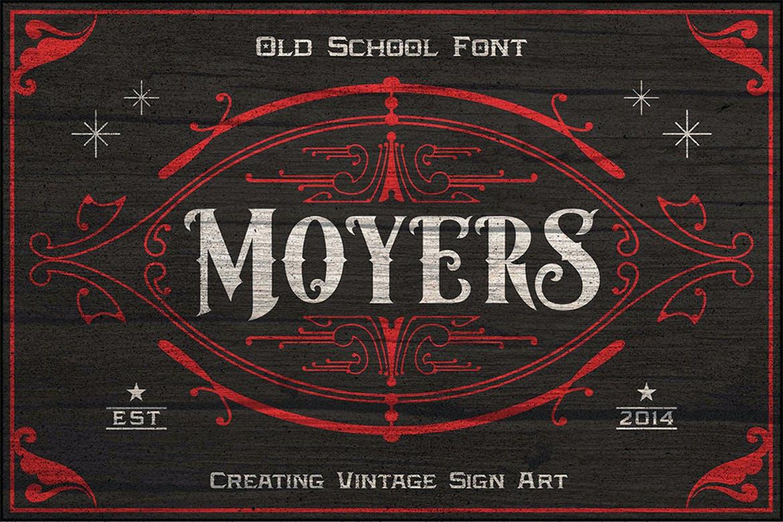 Moyers Typeface