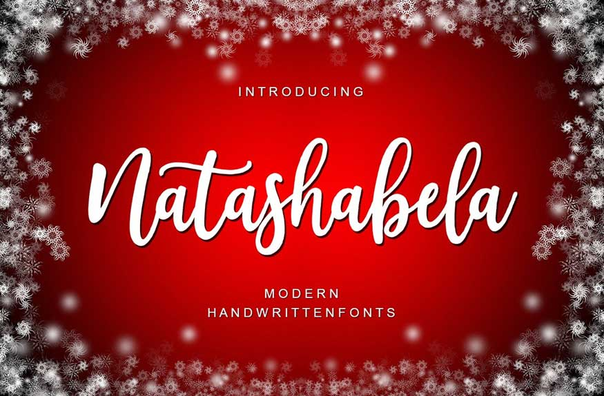 Natashabela Regular Font Free Download