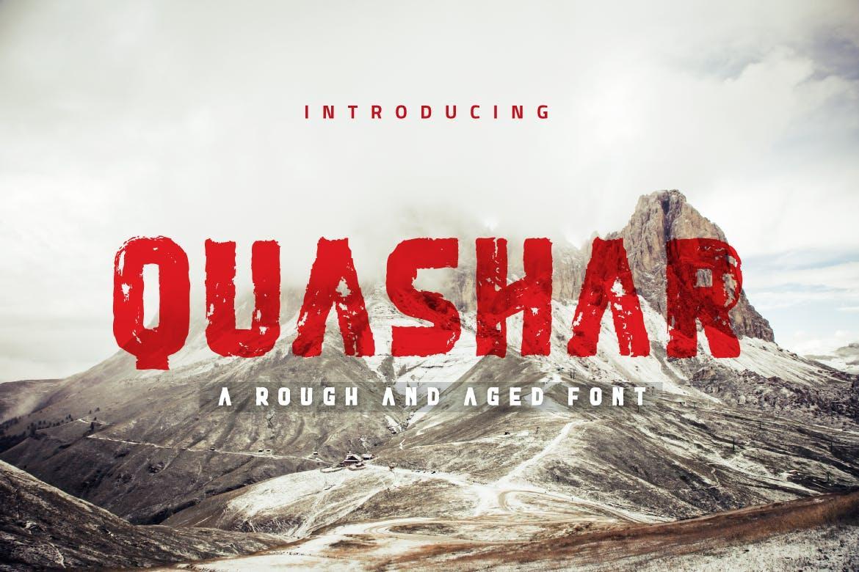 Quashar Font