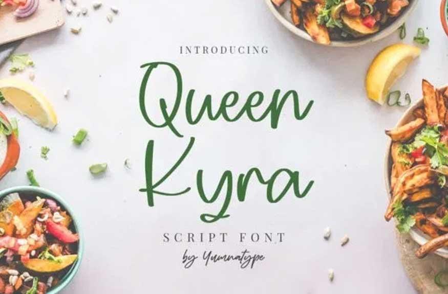 Queen Kyra Font