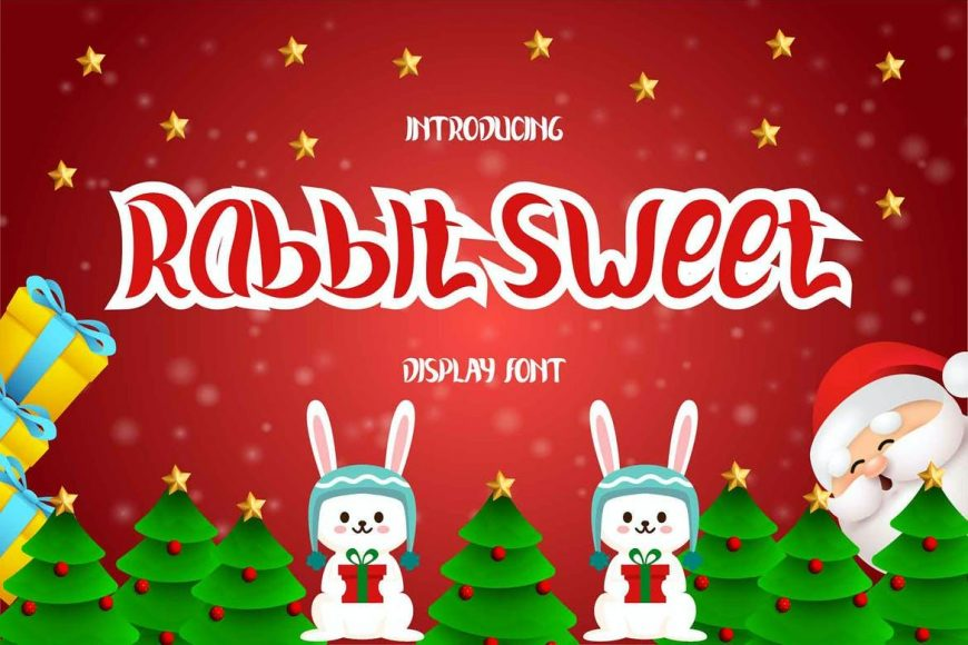 Rabbit Sweet Display Font