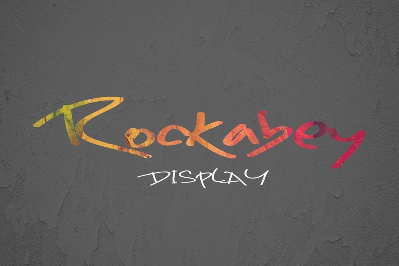 Rockabey Font