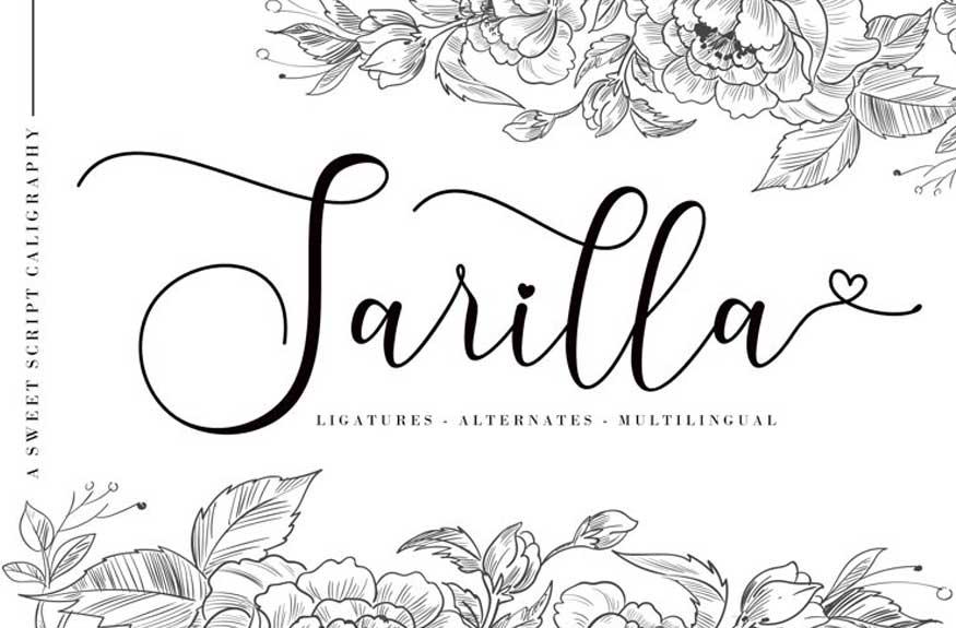 Sarilla Script